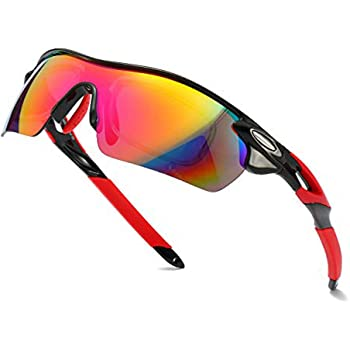Amazon.com: Photochromic Sports Sunglasses Driving Glasses Shades Humps  Lens for Men Women Cycling Running Gifts, Black, X-Large: Clothing