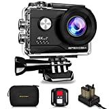 Apexcam 4K Action cam 20MP WiFi Sports Kamera Ultra HD Unterwasserkamera 40m 170 ° Weitwinkel 2.4G...