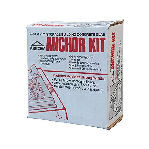 Rowlinson Metal Shed Anchor Kit