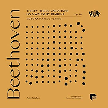 Beethoven: Thirty-Three Variations on a Waltz by Diabelli, Op. 120: Variation 14. Grave e maestoso