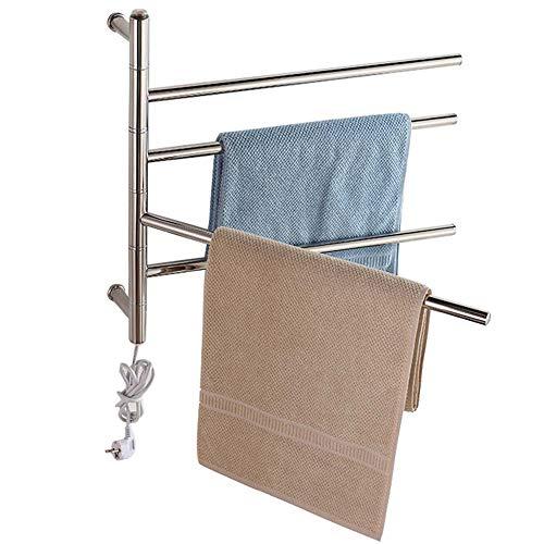 Heated towel rail Calentador de Toallas eléctrico de Pared de 51 vatios,...