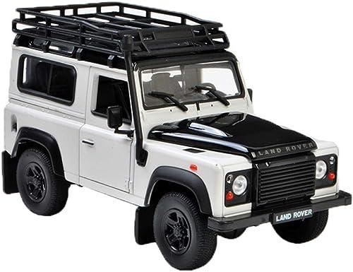 en venta en línea Maisto Land Rover Defender Range Rover Aurora 1 24 24 24 Ice Fire Simulación para Niños de Puertas Abiertas Modelo de Coche Colección de Juguetes Decoración Modelos Escala Vehículos ( Color   blanco )  venta mundialmente famosa en línea