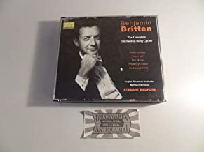 Benjamin Britten: The Complete Orchestral Song Cycles Audio