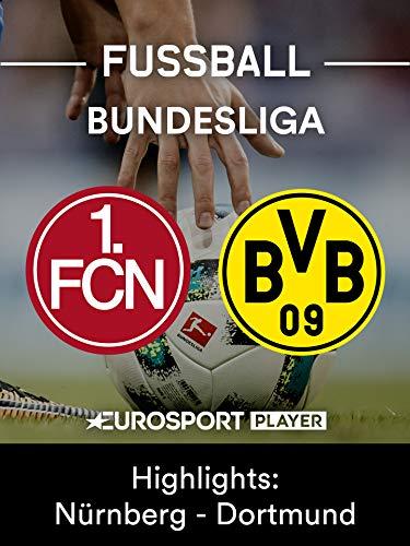 Highlights: 1. FC Nürnberg gegen Borussia Dortmund