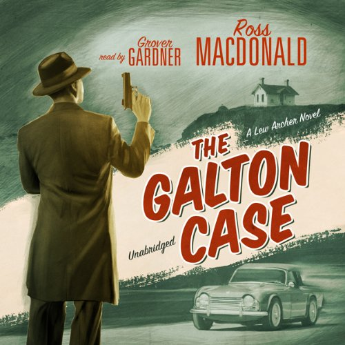 The Galton Case audiobook cover art