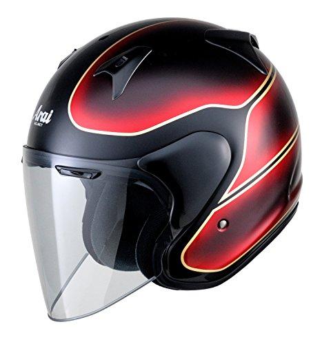 アライ(ARAI) バイクヘルメット ジェット SZ-G VINTAGE(ビンテージ) ブラック/レッド XL 61-62cm SZ-G VINTAGE