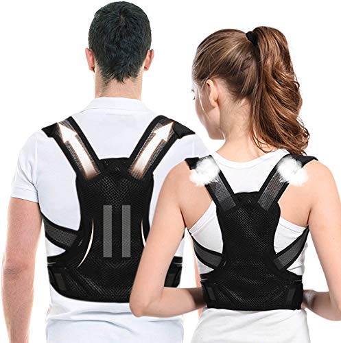Posture Corrector for Men and Women-Adjustable Shoulder Posture Supporter-Used for Thoracic kyphosis deformity and Provides Shoulder-Neck Pain Relief (keel Support)