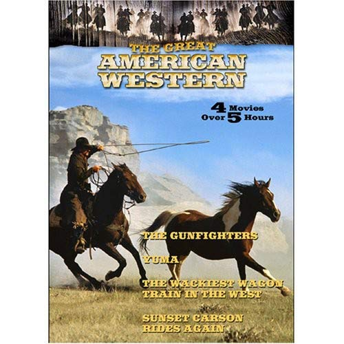 THE GREAT AMERICAN WESTERN - Vol.17: Yuma, The Wackiest Wagon Train in the West, Sunset Carson rides again, The Gunfighters [Import]