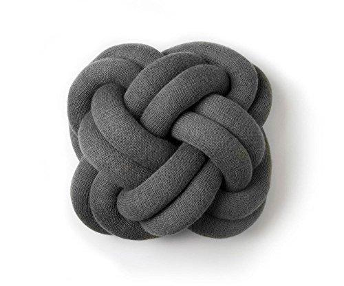 Knot Kissen Design House Stockholm-grau