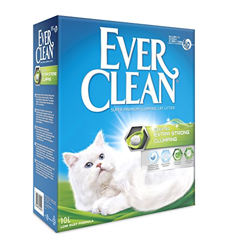 Ever Clean Extra Strong Clumping Cat Litter, 10 Litre,...