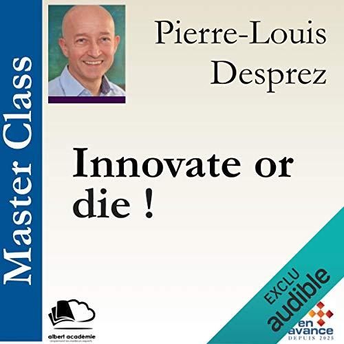 Couverture de Innovate or die !