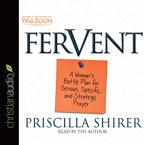 Fervent audiobook cover art
