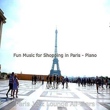 Fun Music for Shopping in Paris - Piano