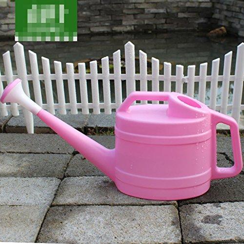 Wddwarmhome 3L arrosage bouilloire en plastique ménage arrosage taille: 47 * 13 * 20cm ( Couleur : Rose )