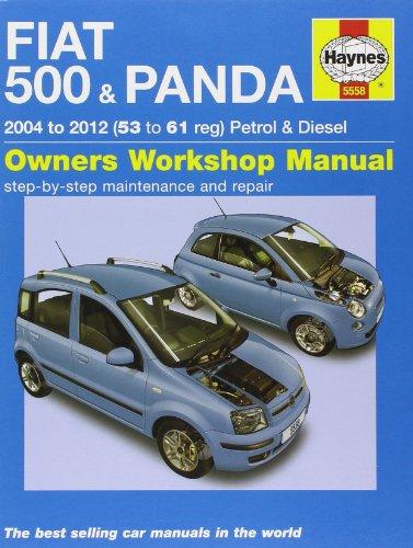 Fiat 500 & Panda Petrol & Diesel Service and Repair Manual: 2004-2012 (Haynes Service and Repair Manuals)