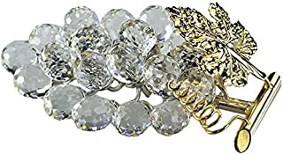 Crystal Asfour 25/502 Grapes Decor - Transparent And Gold