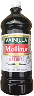 Molina Original Vainilla Saborizante, As Sold In Mexico, Mexican Vanilla Flavoring,1000 mL