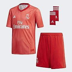Adidas Camiseta 3ª Equipación Real Madrid 2018/2019 Kit Niño