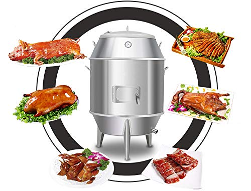 INTSUPERMAI Charcoal Chicken Duck Roaster Grill Oven Cooker BBQ Roast Turkey Kitchen Beijing Roast Duck 2Lb duck once can be roasted 15-18 sets