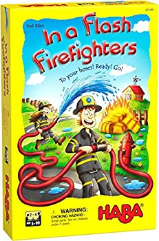 HABA 305480 in a Flash Firefighters- A Racing Arrangement Game for Ages 5 +  Made in Germany