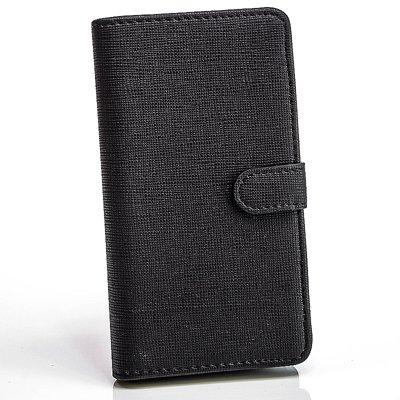 numerva Bookstyle Handytasche kompatibel mit Huawei Ascend Y300 Schutzhülle PU Ledertasche für Huawei Ascend Y300 Hülle mit Kartenfach Schwarz - 2