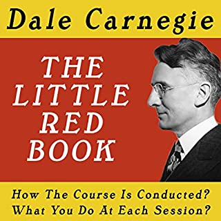 The Dale Carnegie Course: The Little Red Book cover art
