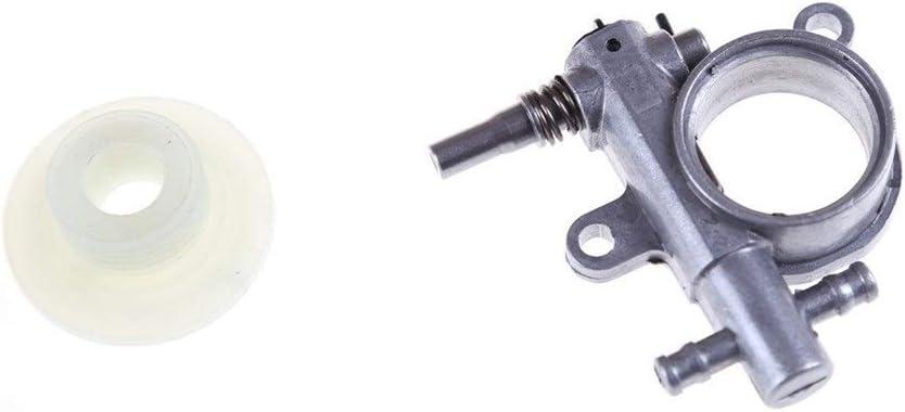 Premontado 1Ponga 2500/3800 de la Motosierra de la Bomba de Piezas de Repuesto de la Motosierra con el Gusano del Engranaje Impulsor Adapta Motosierra 25CC / 38cc Engranaje Gratuito Logra
