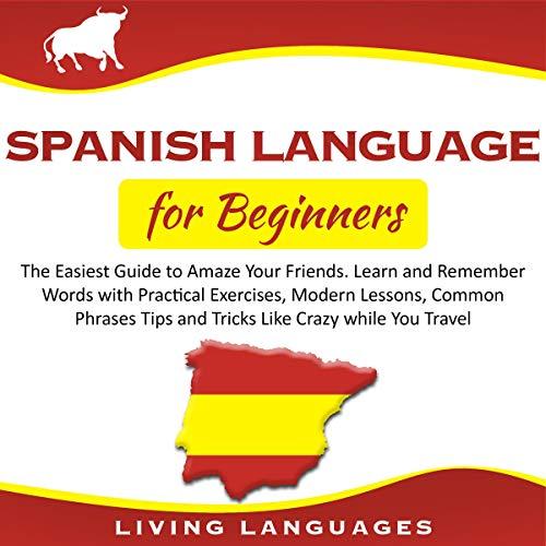 Page de couverture de Spanish Language for Beginners
