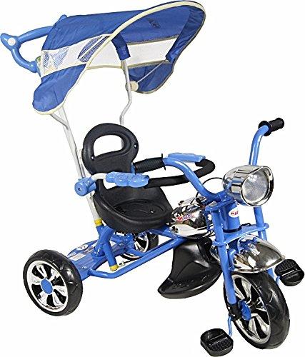 Kinderfahrrad Dreirad Kinderdreirad Schiebestange - ARTI Classic W-11 - Blau