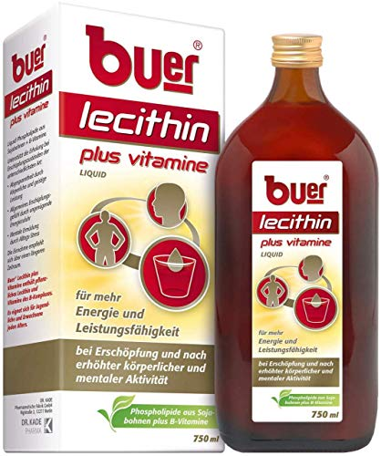 buer Lecithin plus Vitamine Lösung, 750 ml Lösung