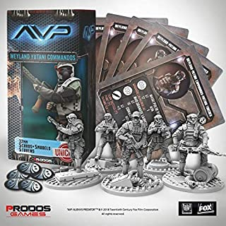 AvP - The Hunt Begins Weyland-Yutani Commandos Unicast SW