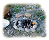 Relags Klappgrill Basic Grill, Silber, One Size