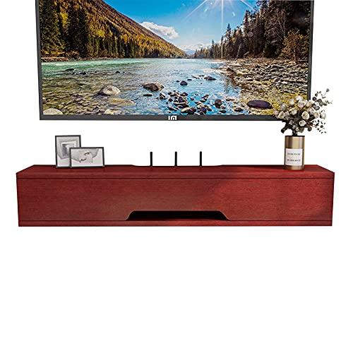 Peakfeng Consola de Soporte TV, Caja de Madera de gabinete de TV de Madera, Utilizado en Sala de Estar/Dormitorio/Corredor (Color : B, Size : 110CM)
