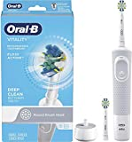 Oral-b Vitality Floss Action Rechargeable Power Toothbrush, Blue and White