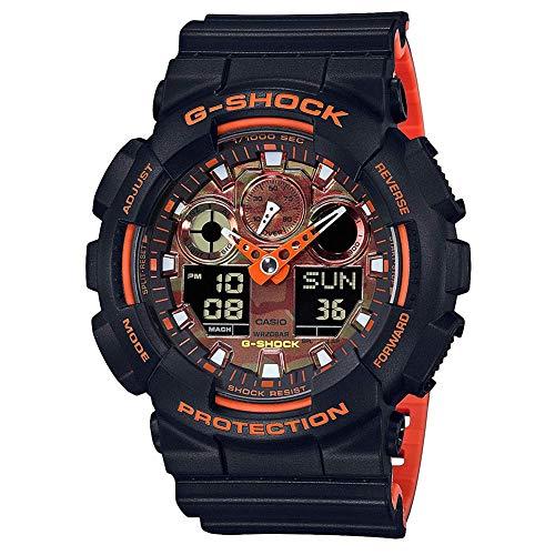 G-Shock Men's GA-100BR-1ACR Black One Size
