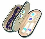 Kontaktlinsen und Brillenetui