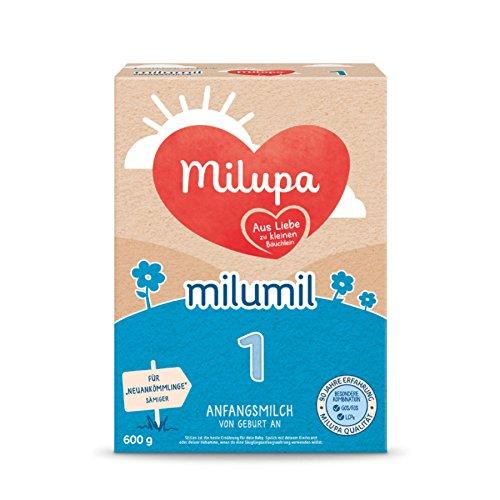 Milupa Milumil 1 Anfangsmilch - von Geburt an, 5er Pack (5 x 600g)