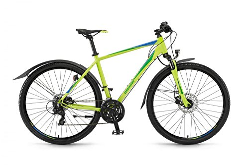 Winora Vatoa Cross Bike 2017 (Lime/Grün/Blau Herren, 61)
