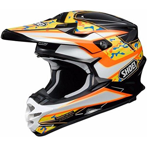 Shoei VFX-W Turmoil motorcross helm