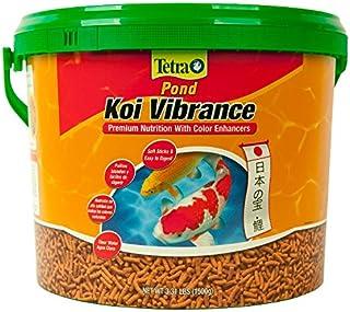 TetraPond Koi Vibrance Premium Nutrición con potenciadores de Color, 3.08-Pound