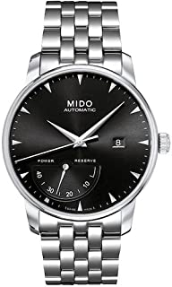 MIDO - Reloj Analógico para Hombre de Automático con Correa en Acero Inoxidable M8605.4.18.1