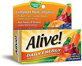 Nature's Way, Alive, Daily Energy, 60 Tablets