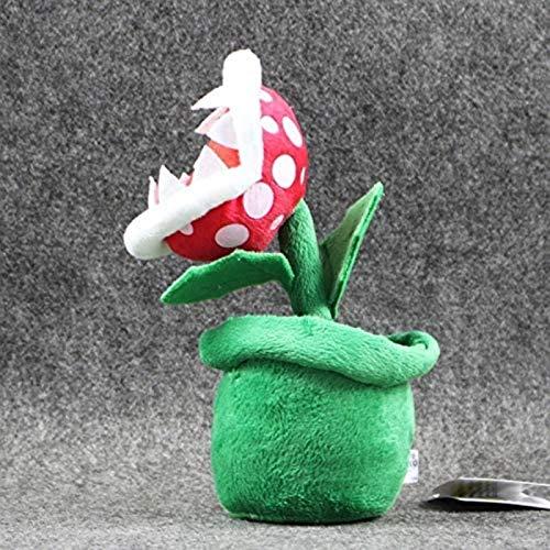 siyat Super Mario Plüsch Piranha Pflanze Mario Plüsch 20cm Anime Toys Weiche Spielzeug für Kinder Peluche Mario Gefüllte Spielzeug Kinder Geschenk Jikasifa