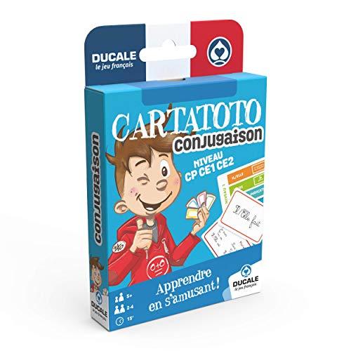 Ducale, el Juego francés - Cartatoto Conjugaison-Juego de Cartas educativas, Aprender a conjugar Les Verbes, 10006524