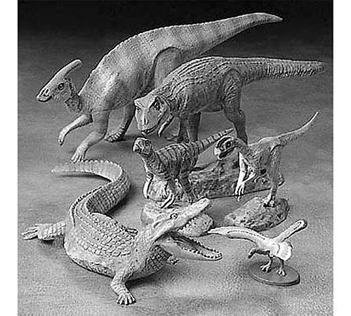 タミヤ 1/35 恐竜世界シリーズ No.07 小型恐竜セット プラモデル 60107
