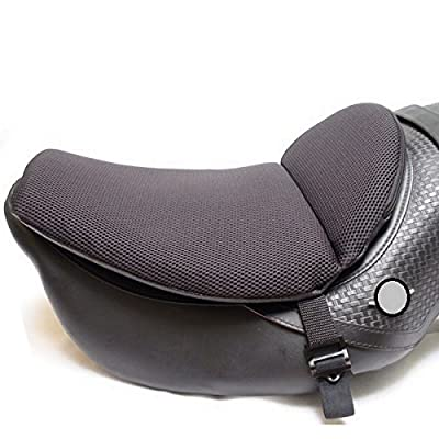 """CONFORMAX""""TOPPER EXCEL"""" ULTRA-FLEX Motorcycle Gel Seat Cushion- Extra Large-AIRMAX (18x14x6) by Crinnis Corporation"""