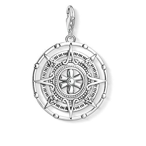 Thomas Sabo Herren Damen-Anhänger Maya-Kalender 925 Sterling Silber Y0035-637-21