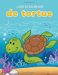 Livre de coloriage de tortue (French Edition)