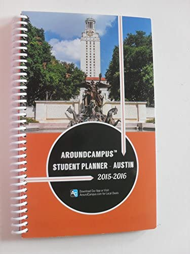 aroundcampus student planner austin 2015 2016 spiral paperback product image