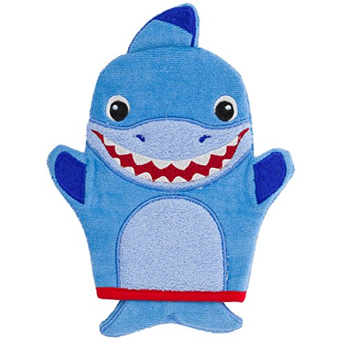 Stephen Joseph Bath Mitts, Shark